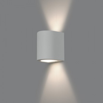 Arandela Bella Luce Curva BL8064AV Facho Duplo Aberto - com LED  - Giamar