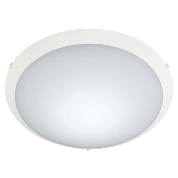 Plafon LED New Clean Redondo Vidro Fosco 20W 127V  - Giamar