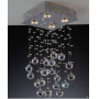 Plafon Cristal 4 L�mpadas