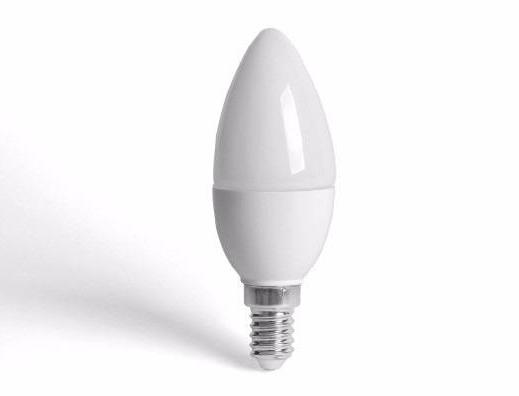 Lâmpada LED Vela 4W Leitosa E-14/E-27  - Giamar