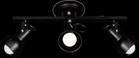 Spot Aluminio no Trilho - Itamonte 1141/3  - Giamar