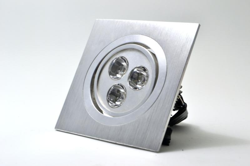 Spot LED Embutir Branco Escovado - PREÇO IMBATIVEL  - Giamar