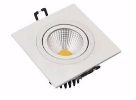 Spot LED COB Embutir Branco Quadrado - PREÇO IMBÁTIVEL  - Giamar