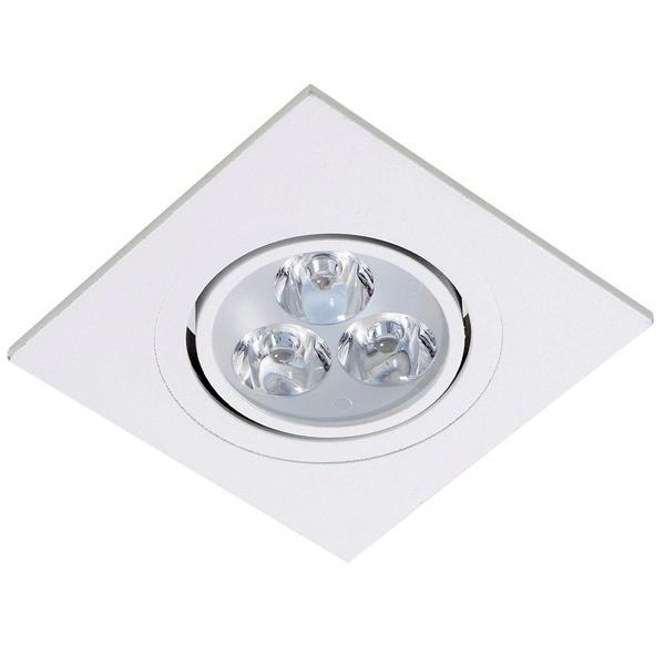 Spot LED Embutir Branco Quadrado - PREÇO IMBATIVEL  - Giamar