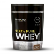 100% PURE WHEY 825G CHOCOLATE POUCH PROBIOTICA