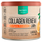 COLLAGEN RENEW 300G LARANJA NUTRIFY