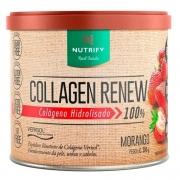 COLLAGEN RENEW 300G MORANGO NUTRIFY