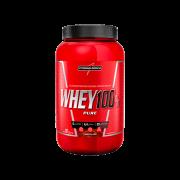 SUPER WHEY 100% PURE | 907G POTE | CHOCOLATE | INTEGRALMEDICA