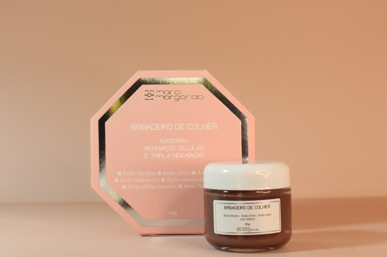 Brigadeiro de Colher - Máscara Ácido Glicólico + Ácido Lático + Ácido Cítrico