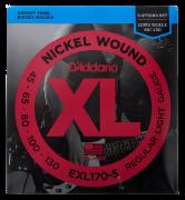 Encordoamento baixo D'Addario 45/130 EXL170-5