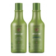 Kit Inoar Argan Oil System 500ml  (Shampoo + Condicionador)