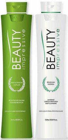 Beauty Progress Brazilian Keratin Escova Progressiva Kit 2x1000ml