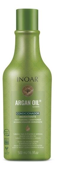 Kit Inoar Argan Oil System 500ml  (Shampoo + Condicionador)