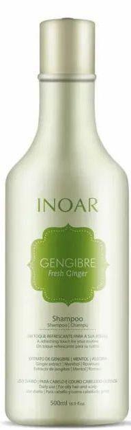 Kit Inoar Gengibre Fresh Ginger 500ml