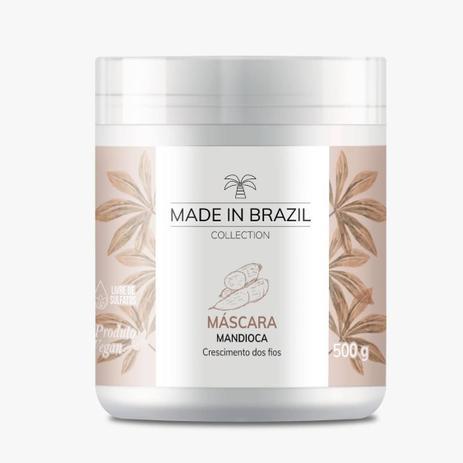 Máscara de Mandioca Made In Brazil Collection 500g