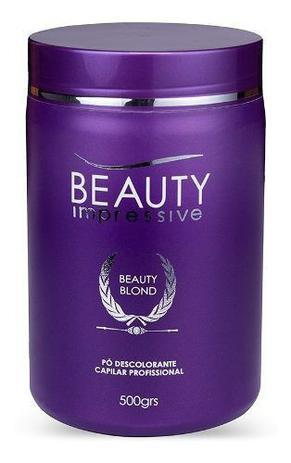 Pó Descolorante Beauty Impressive Blond Profissional 500g
