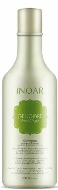 Shampoo Gengibre Fresh Ginger Inoar 500ml