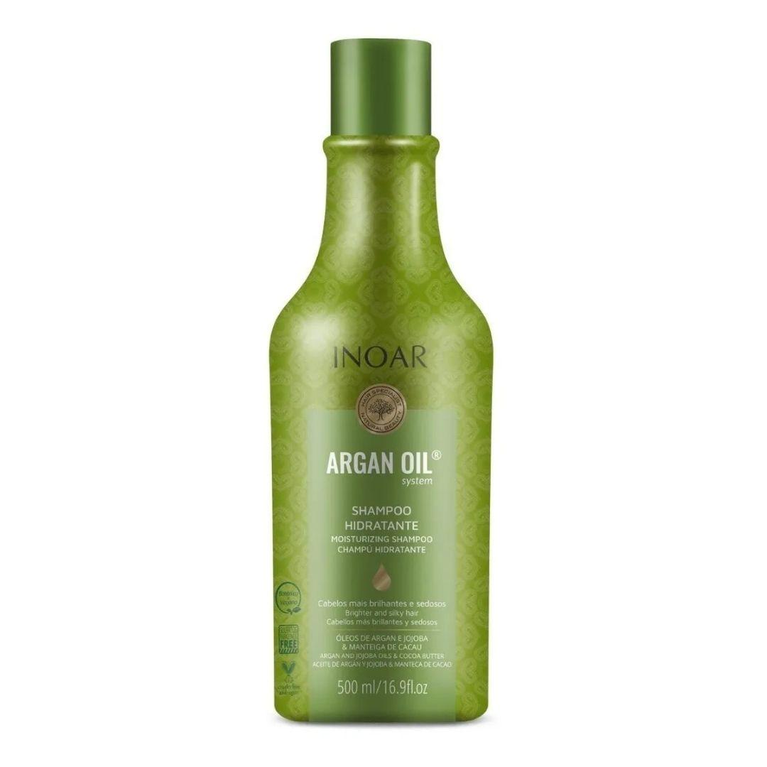 Shampoo Hidratante Inoar Argan Oil System 500ml