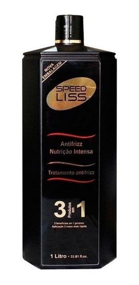 Speed Liss Escova Progressiva Inteligente 3x1  Aveia e Mel