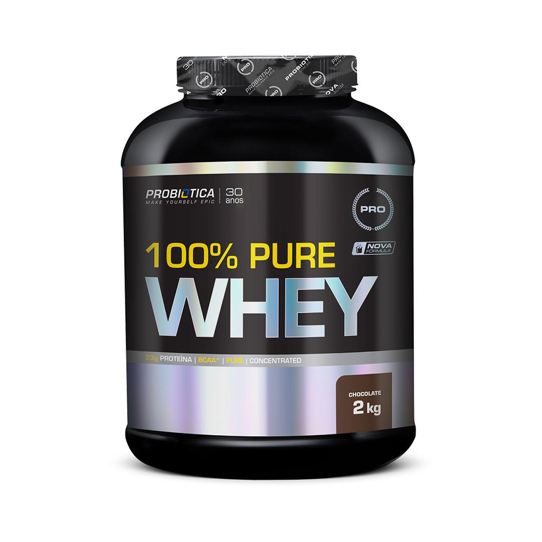 100% Pure Whey 2kg Probiótica
