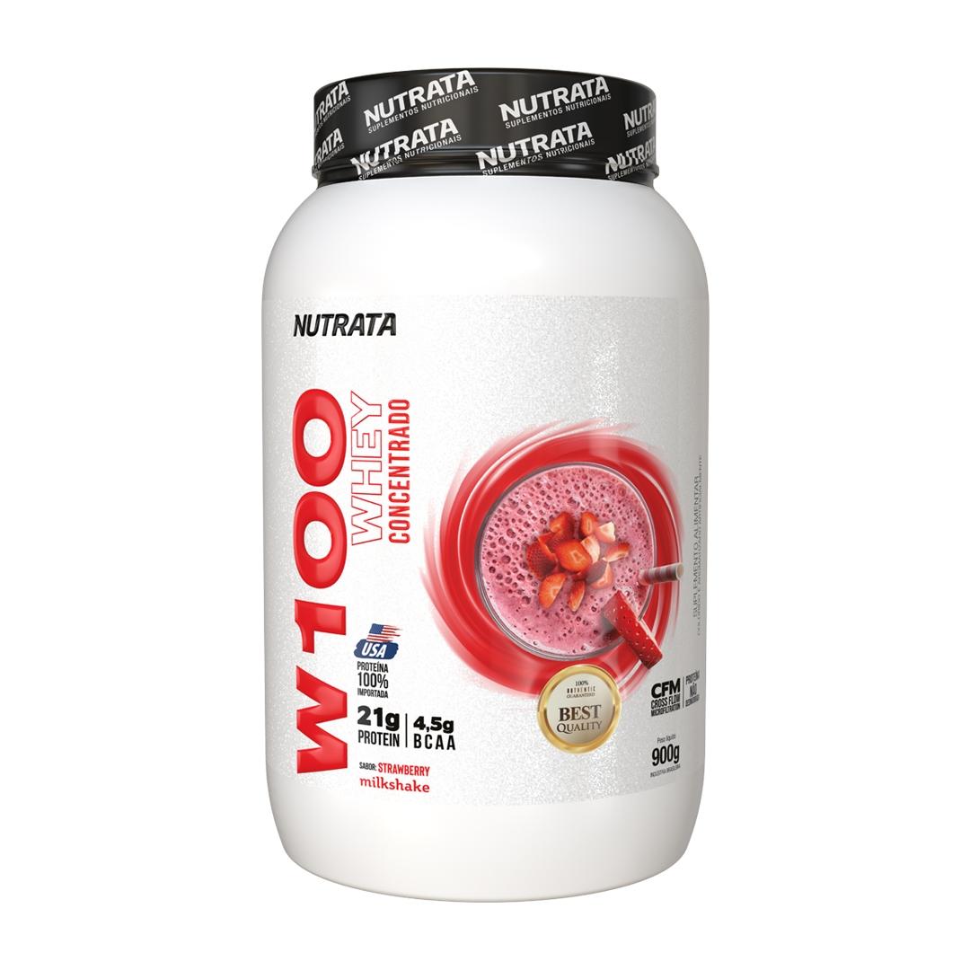 100% Whey 900g Nutrata