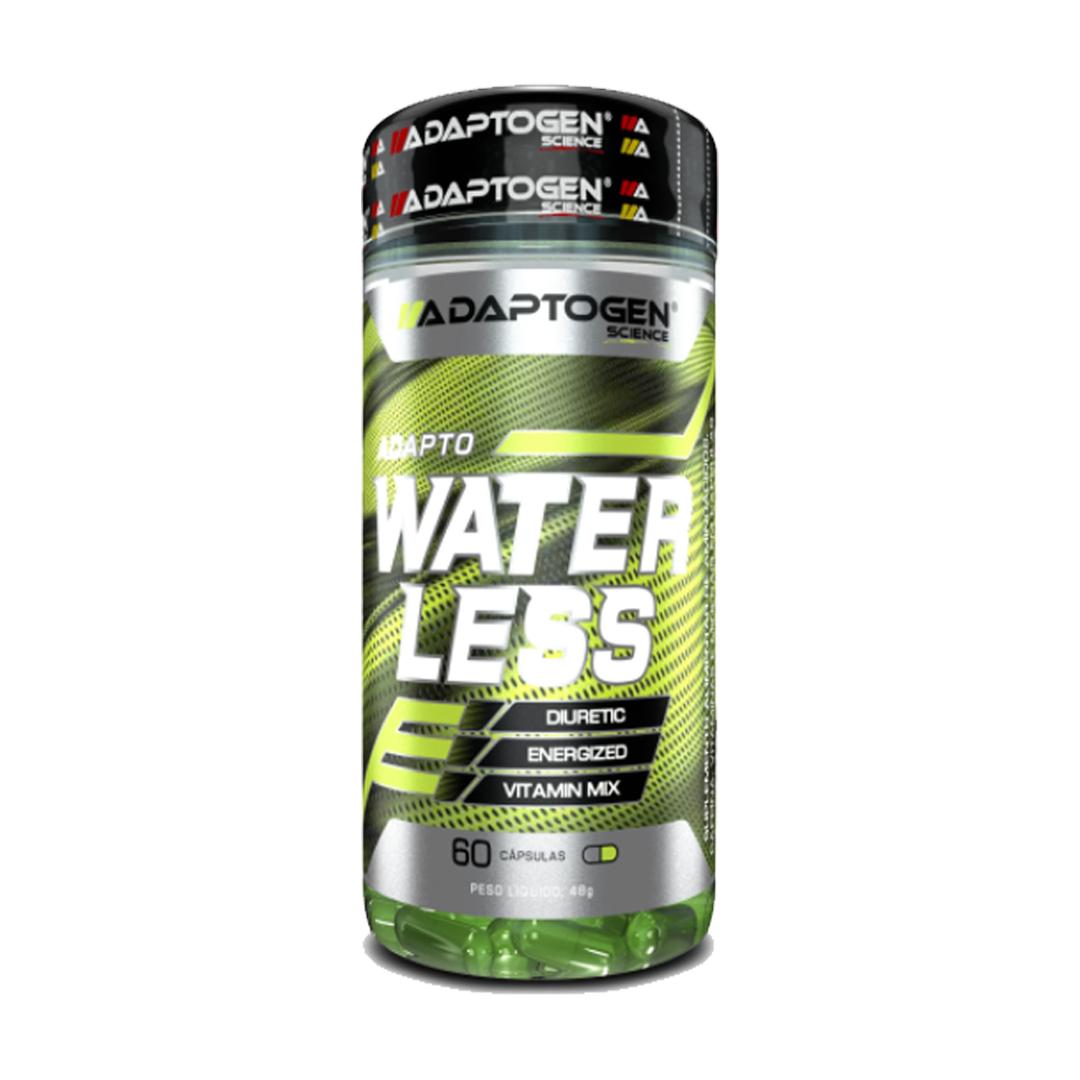 Adapto Water Less 60 Cápsulas Adaptogen