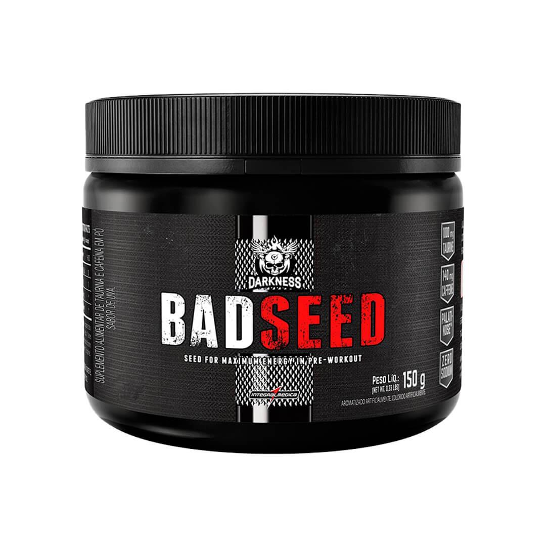 Badseed Pré Treino 150g Darkness