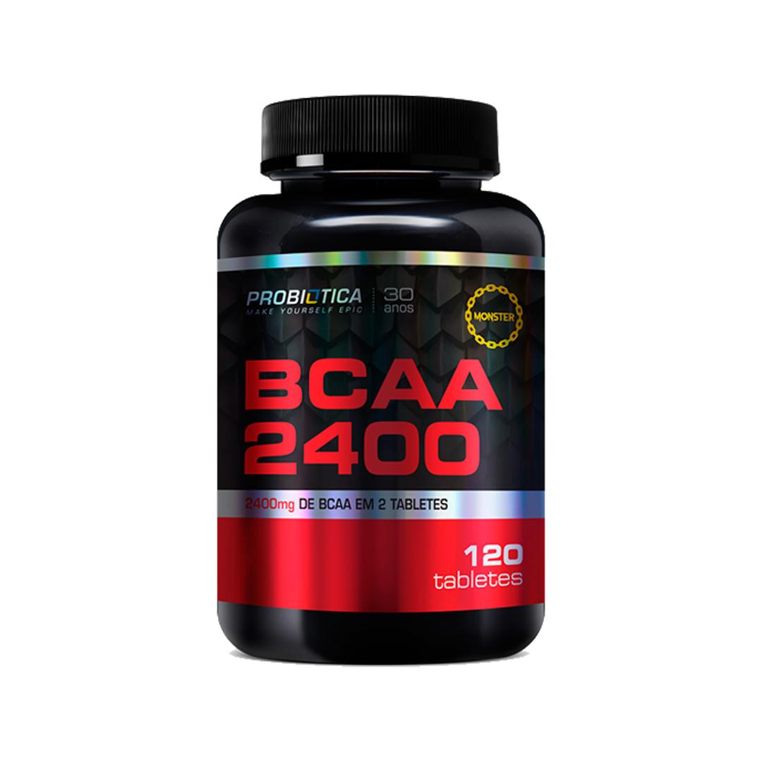 BCAA 2400 120 Cápsulas Probiótica