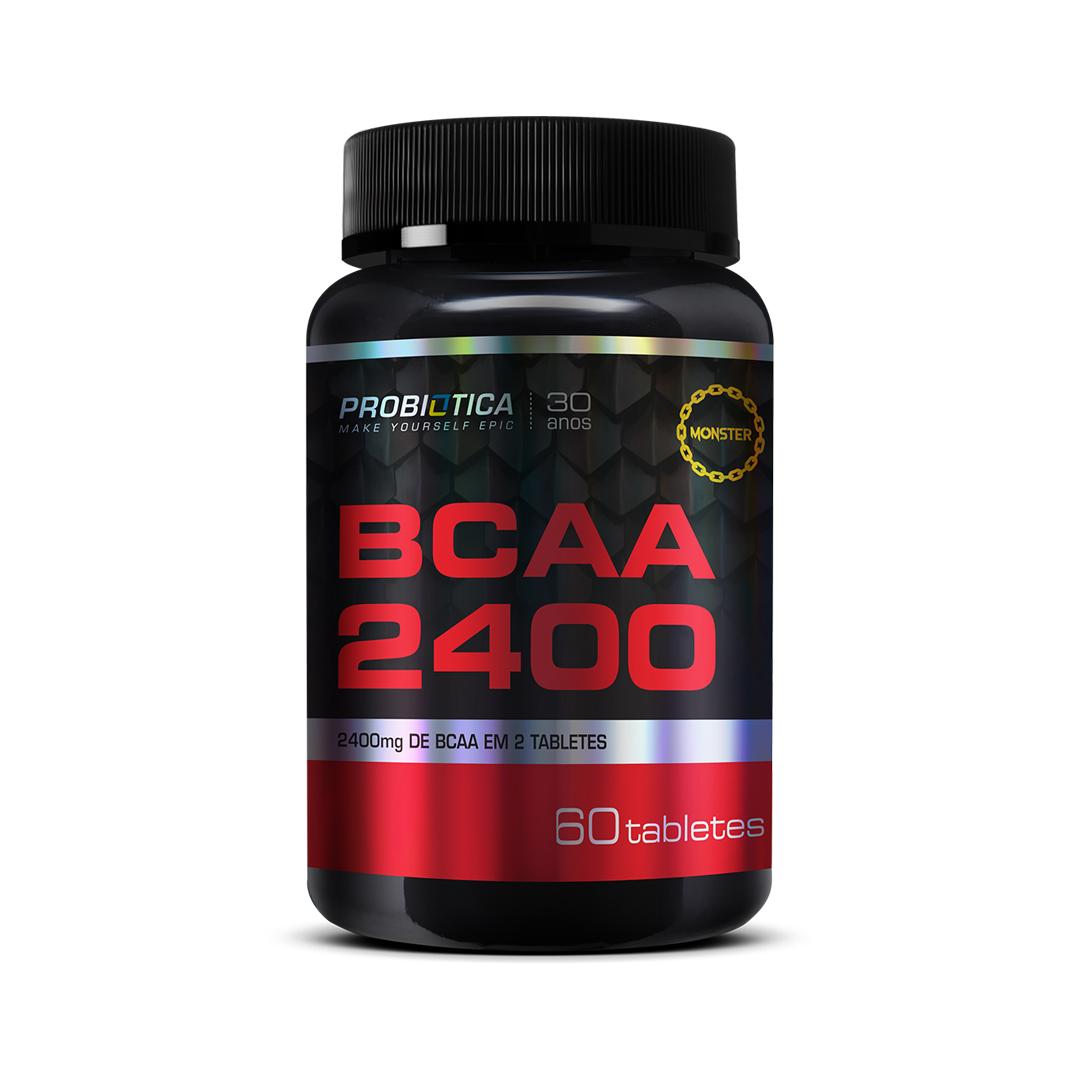 BCAA 2400 60 Cápsulas Probiótica