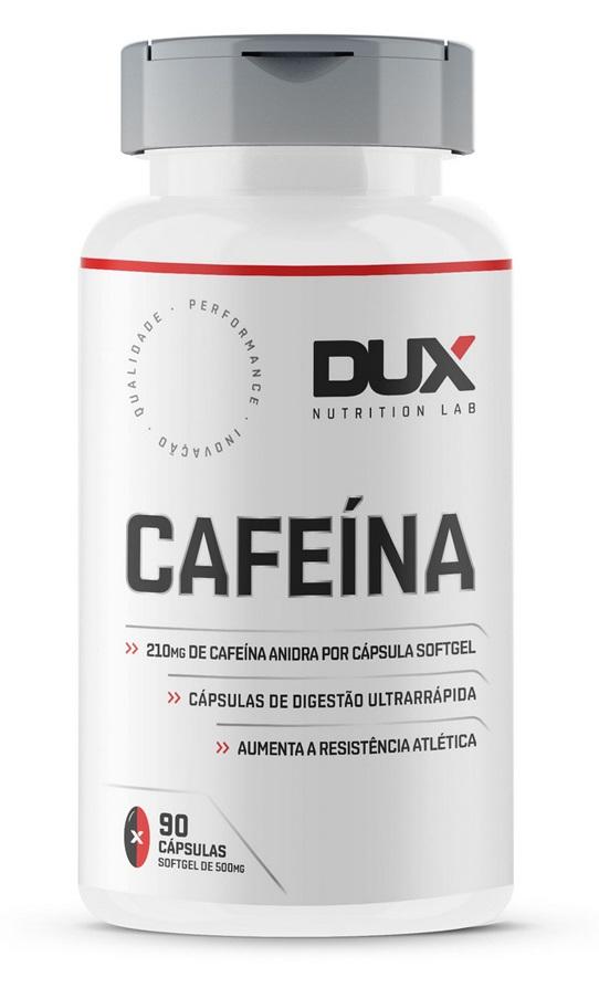 Cafeína 90 Cápsulas Dux Nutrition