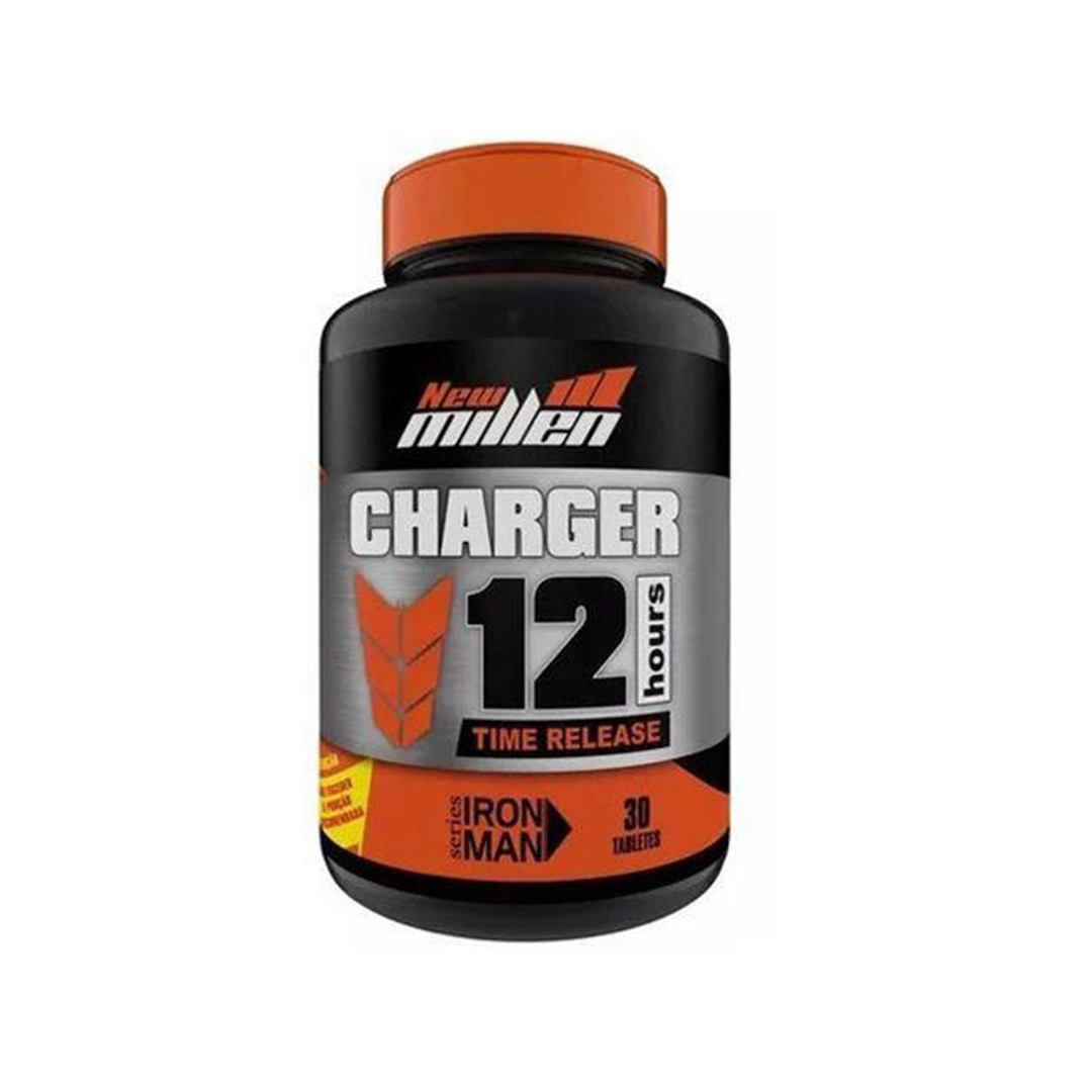 Charger 12 Hours Time Release 30 Tabletes New Millen