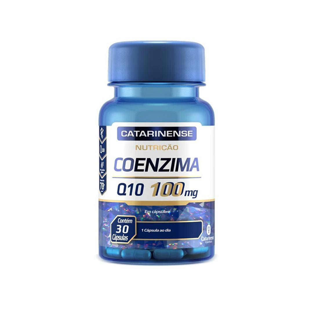 Coenzima Q10 100mg 30 Caps Catarinense Pharma