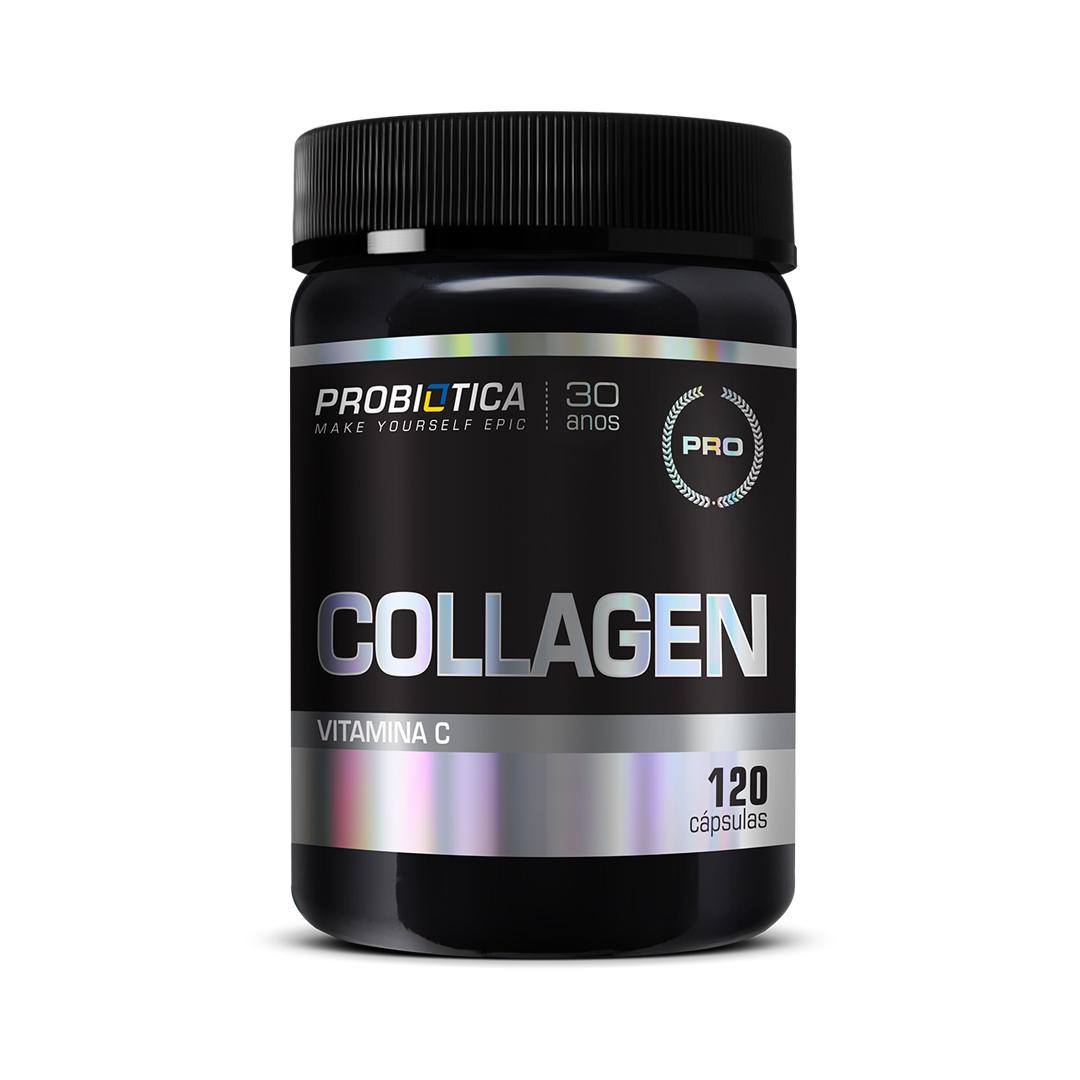 Collagen - Colágeno Hidrolisado 120 Cápsulas Probiótica