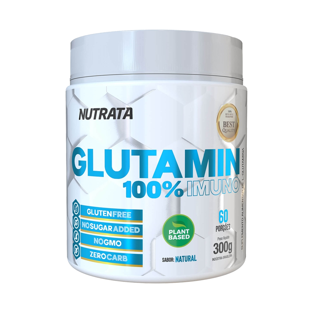 Glutamina 100% 300g Imuno Nutrata