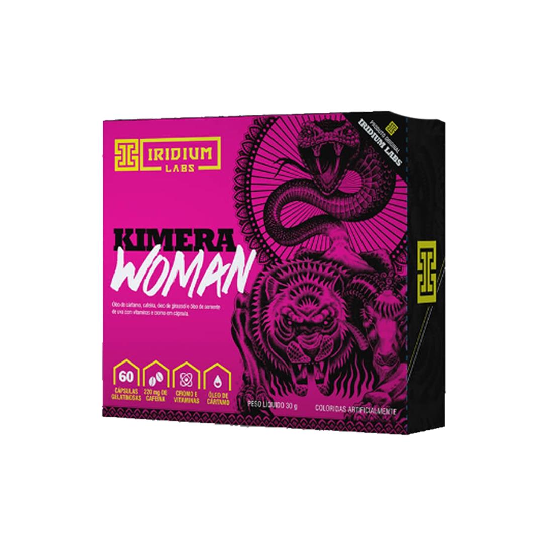 Kimera Woman 60 Cápsulas Gelatinosas Iridium Labs