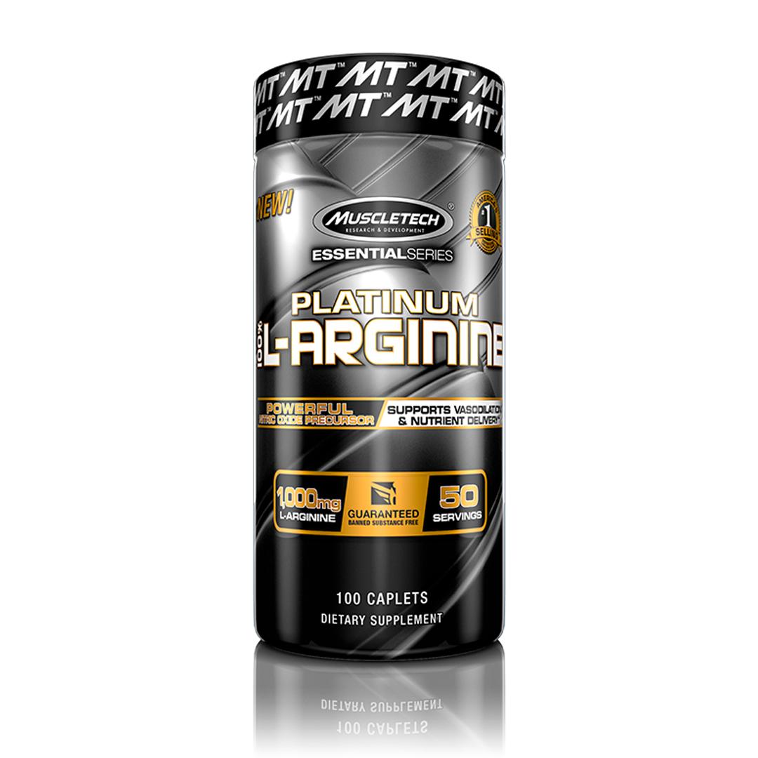 Platinum L-Arginina 100 Tabletes MuscleTech