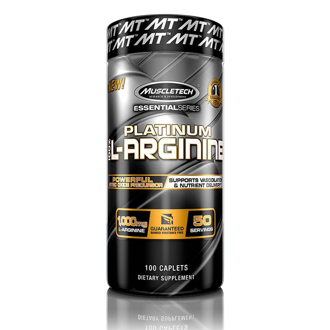 L-Arginina 100 Tabletes MuscleTech