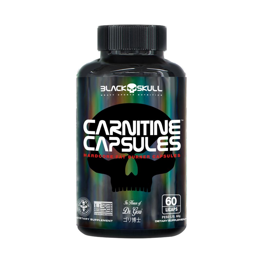 L-Carnitina 60 Cápsulas Black Skull