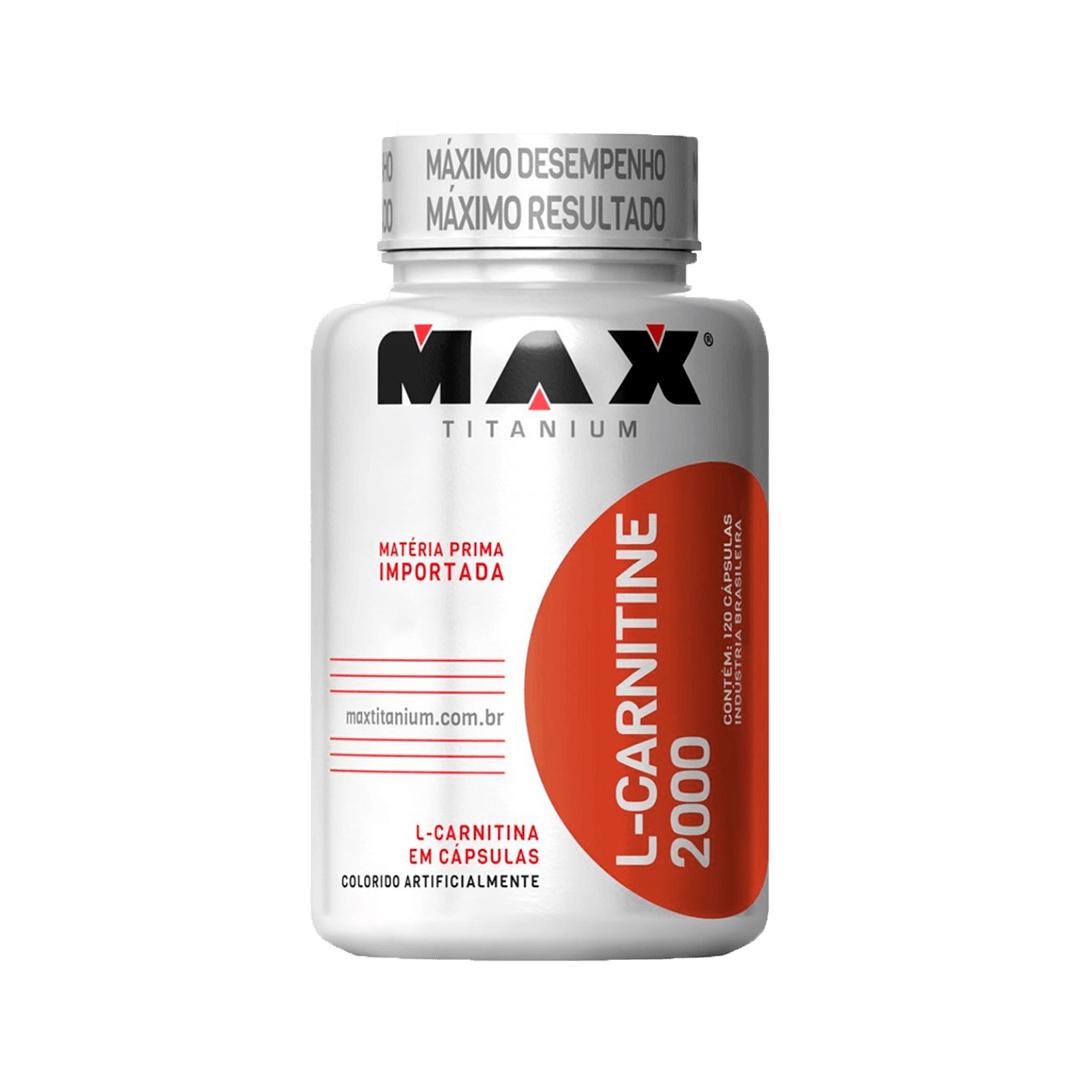 L-Carnitina 60 Cápsulas Max Titanium