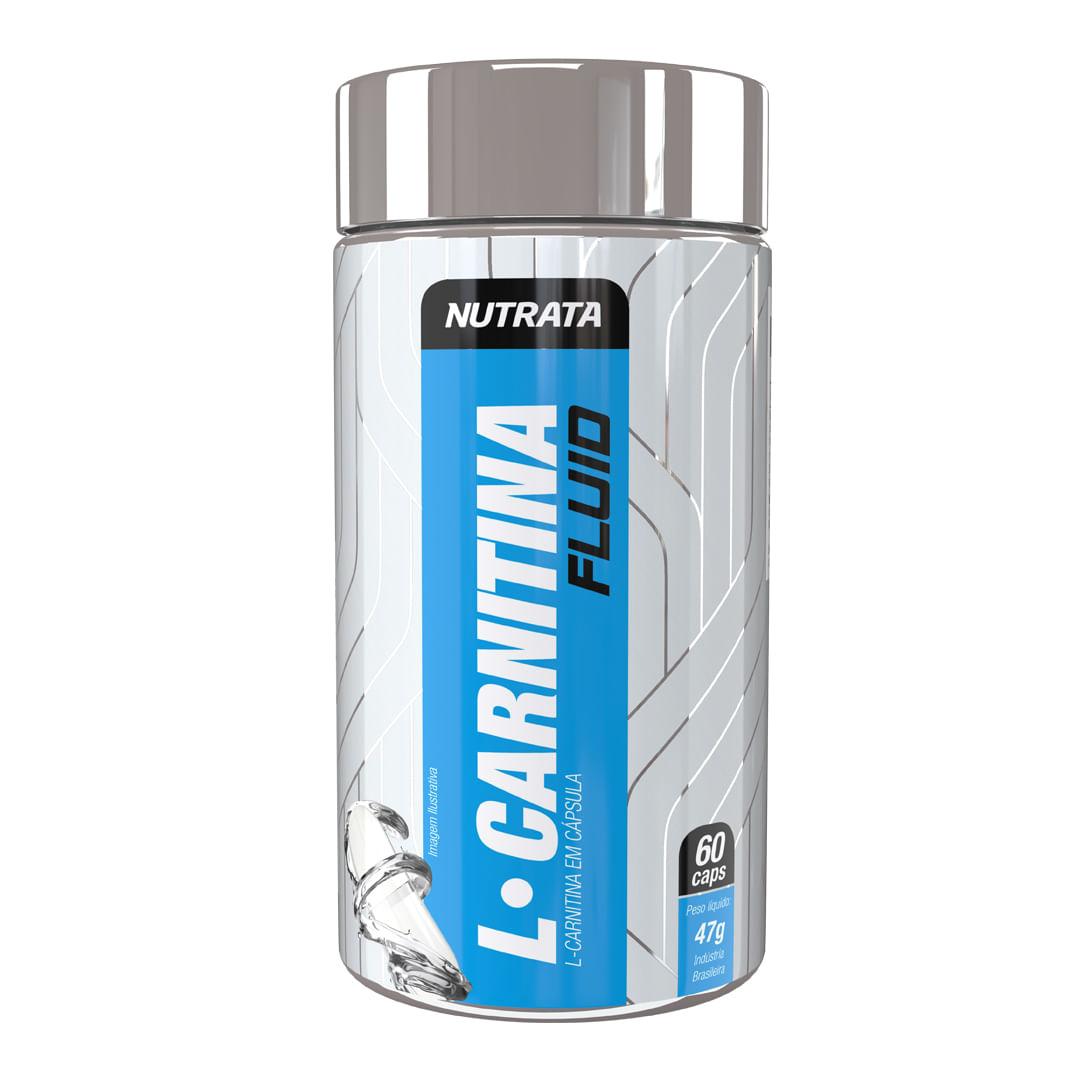 L-Carnitina Fluid 60 Caps Nutrata