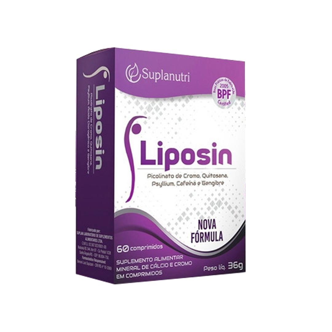 Liposin 60 Comprimidos Suplanutri