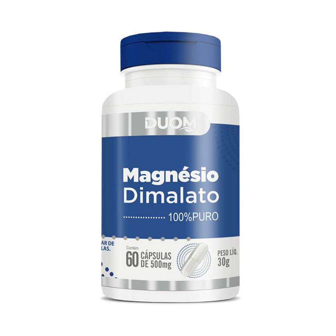 Magnésio Dimalato 60 Caps Duom