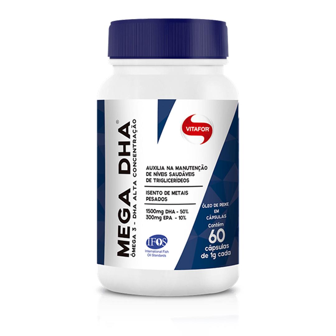 Mega DHA 60 Caps Vitafor