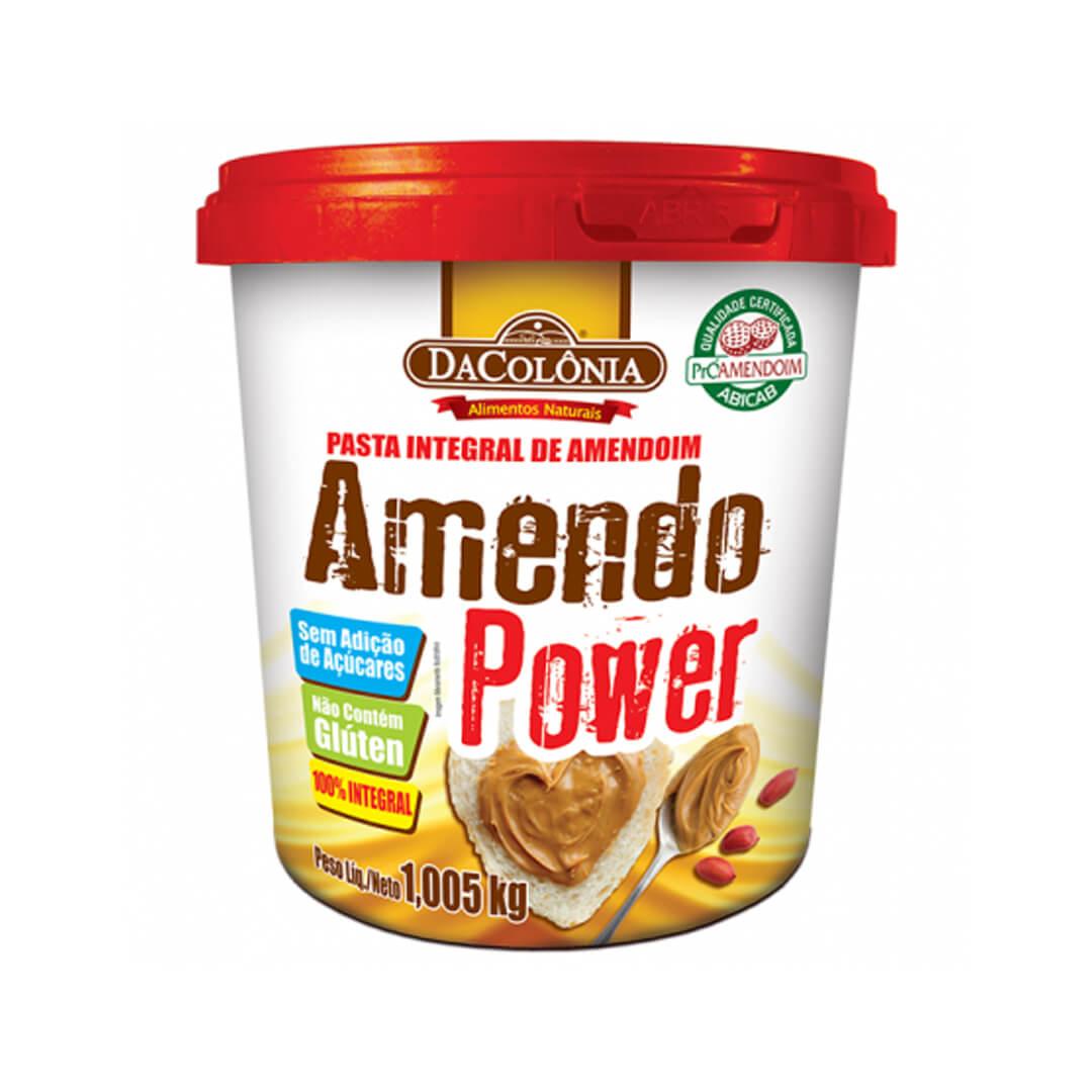 Pasta de Amendoim Amendo Power 1,005kg