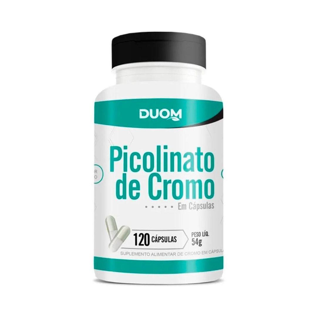 Picolinato de Cromo 120 Caps Duom