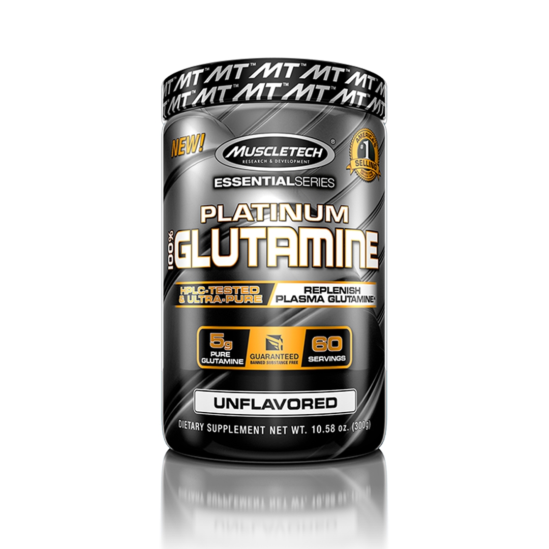 Platinum Glutamina 300g MuscleTech