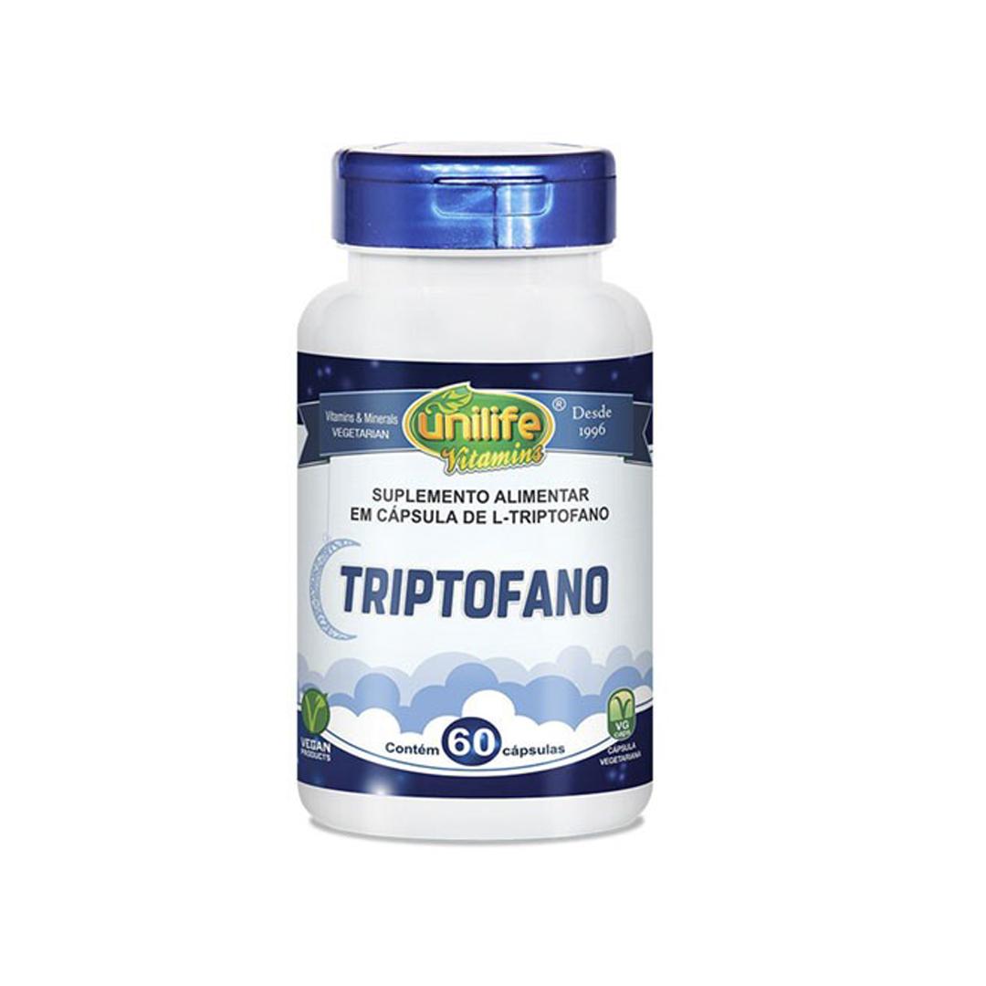 Triptofano 60 Caps Unilife