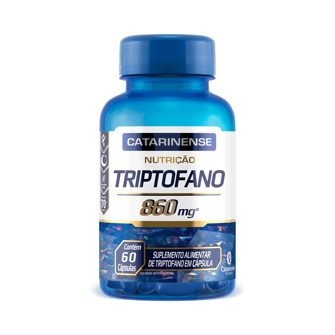 Triptofano 60 Cápsulas Catarinense Pharma