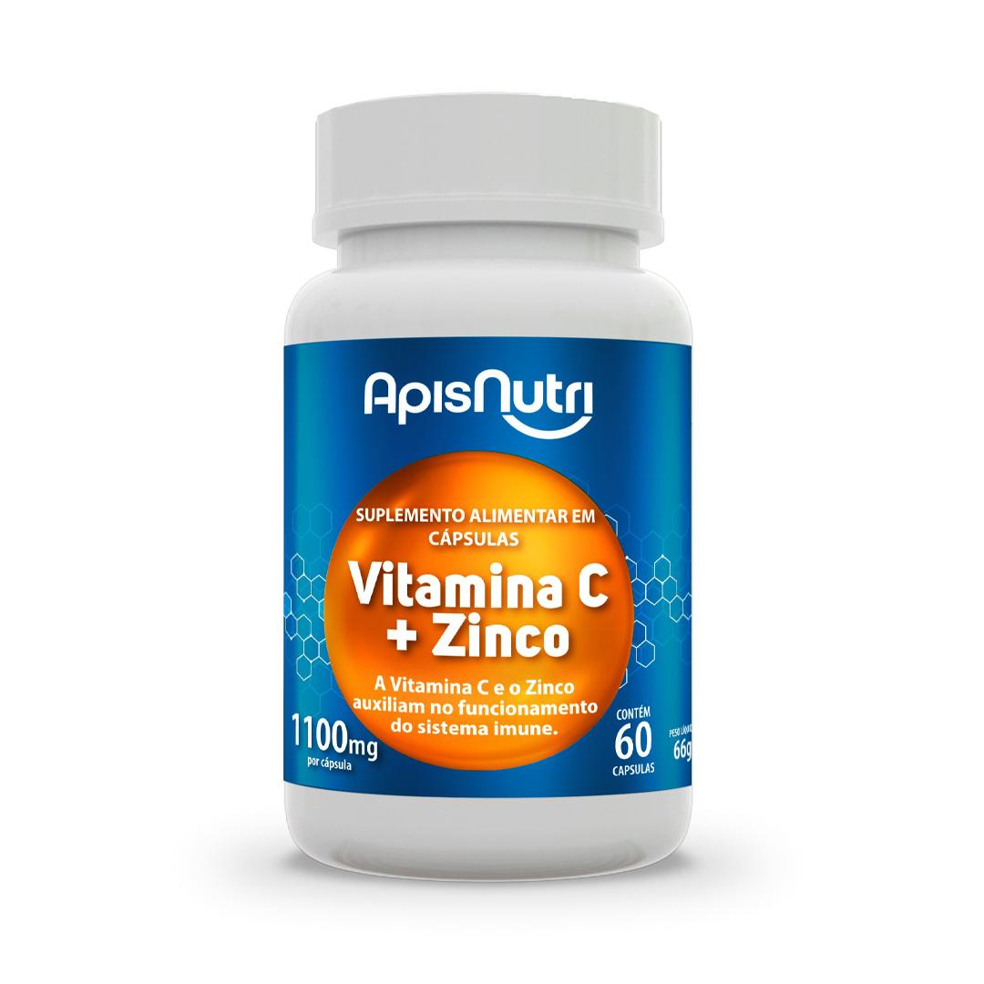 Vitamina C + Zinco 60 Caps ApisNutri