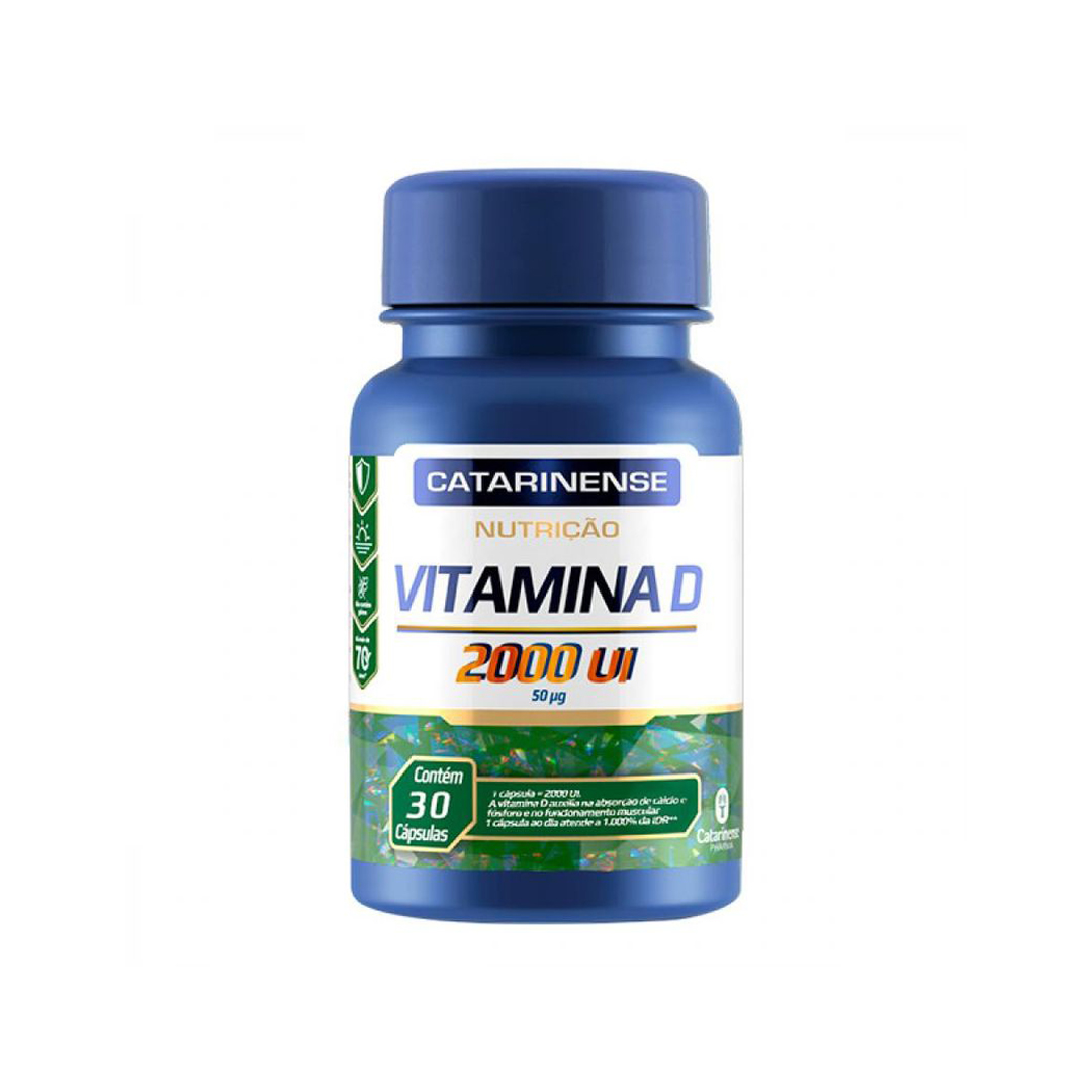 Vitamina D 2000 UI 30 Caps Catarinense Pharma